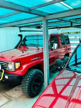 Vendo o Cambio con camioneta HERMOSO LAND CRUISER FJ A TODA PRUEBA