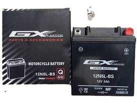 Bateria moto 12N5L-BS