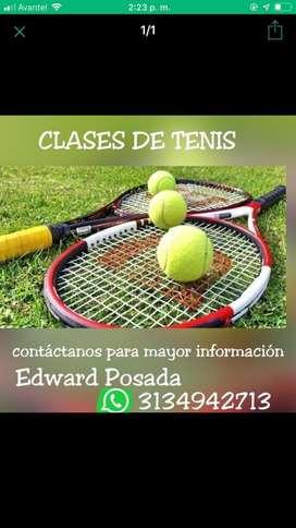 Clases  cursos de Tenis