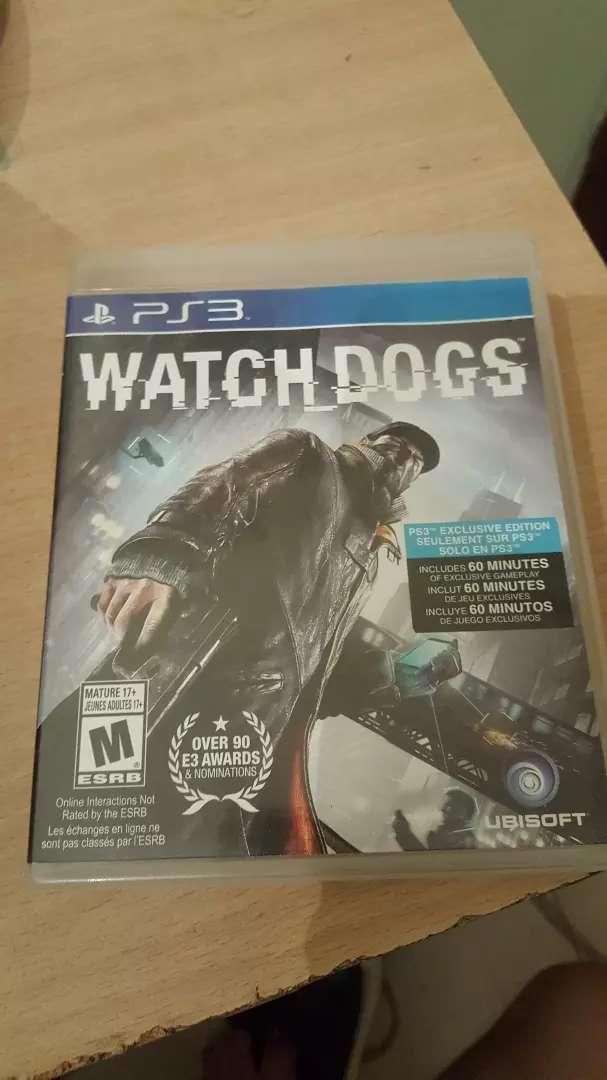 Vendo juego Watch dogs Ps3