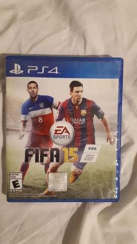 Juego de PlayStation 4 Fifa 15