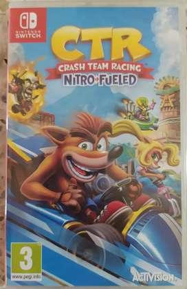 Crash Team Racing Nuevo Recibo juego en parte de pago