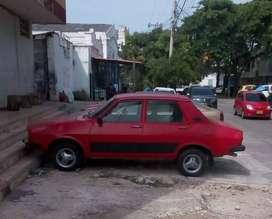Vendo Carro Renault 12 Rojo en Barranquilla