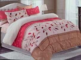 Set de cobertor de algodón con reversible de piel de carnero