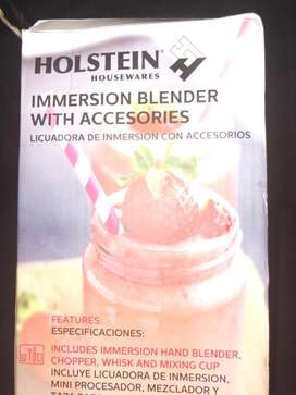Immersion blender with accesories