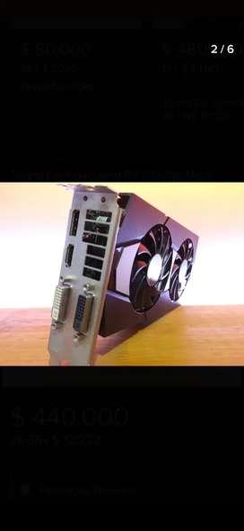 Tarjeta de video R9 270 de 2gb rinde similar GTX 1050ti