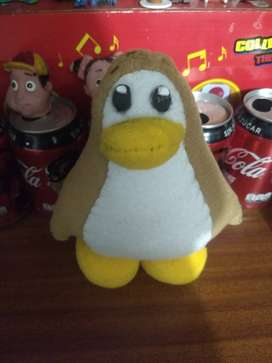 Peluche artesanal de club penguin