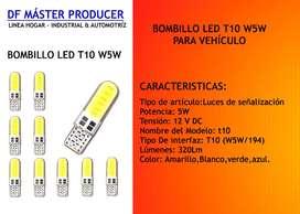 PAR- BombilloS Led T10-158 12vpara Vehículo Y Moto