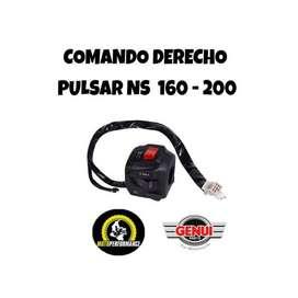 Comando derecho Pulsar 200 NS