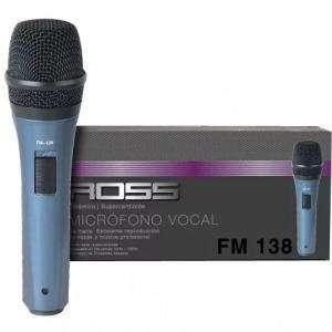Microfono Ross Fm138 Para Cantante Karaoke 0