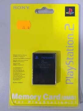 Tarjeta De Memoria 8 MB Original Sony Para Playstation2