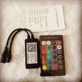 Controlador luz Led RGB