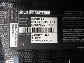 Tv Lg 49uf640t para Repuesto