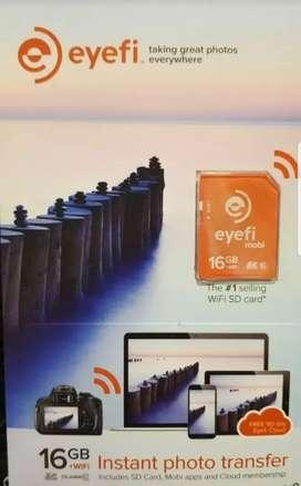 Eyefi Mobi 16gb Tarjeta Sdhc C10 Wifi (usada)