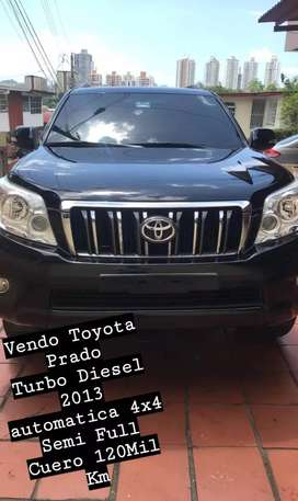 VENDO TOYOTA PRADO TURBO 2013
