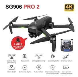 Drone Sg906 Pro 2 Gps 4k Gimbal + Combo bolso