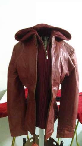 chaqueta puro cuero dama