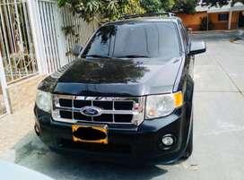 Ford escape negro 4x4 full equipo