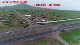 Se vende terreno de 500m2 en ciudad Nuevo San Juan Huacho KM 115, con título de propiedad y excelente ubicación