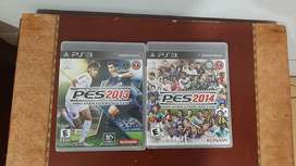 Pro Evolution Soccer Pes 2013 y 2014 Ps3