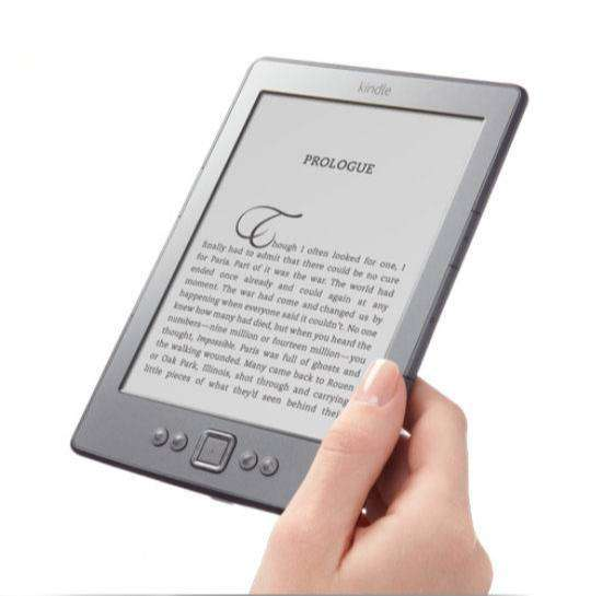 Kindle 4th Gen Mod D01100 Impecable En Caja + Funda Cuerina 0