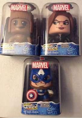 Hasbro Marvel Mighty Muggs 3 Cajas