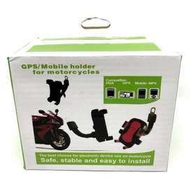 Soporte de celular para bicicleta o moto de arandela para atornillar