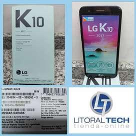 Celular LG K10 negro liberado