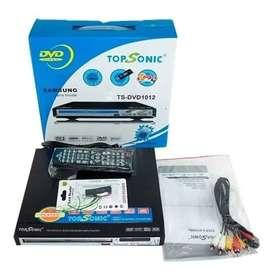 REPRODUCTOR  DVD CON PUERTO USB
