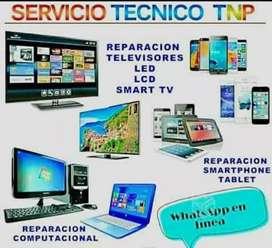 REPARACIÓN DE TELEVISORES Y COMPUTADORAS