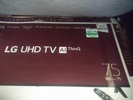 """Vendo tv lg Smart  4k  de 75"""""""