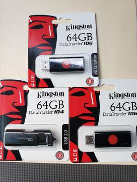 Usb 64GB Kingstong