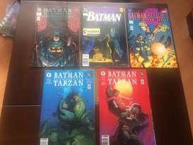 EDICION ESPECIAL BATMAN Y TARZAN