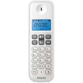 TELÉFONO INALAMBRICO PHILIPS BLANCO D1311W DE LINEA telefonos inalambricos  ENVÍOS GRATIS