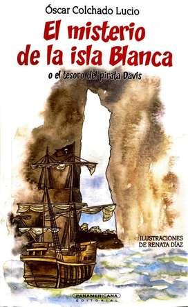 El misterio de la isla Blanca - Óscar Colchado Lucio