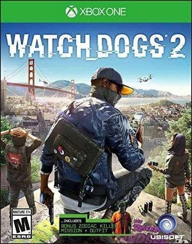 Watch Dogs 2 Xbox One, Físico