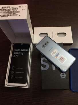 Samsung S10E Y Samsung A70 128Gb Libres
