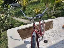 Bicicleta playera bonita y barata
