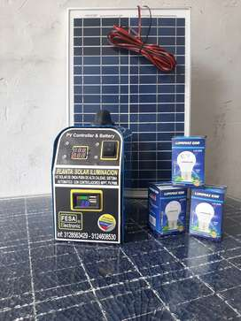 Kit solar 75 Wdia panel 20W