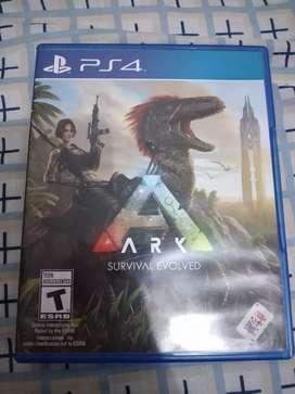 Videojuego ARK Survival evolved