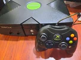 Xbox clásico 1 control original 80 juegos