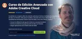 Curso edición avanzada con adobe Creative Cloud