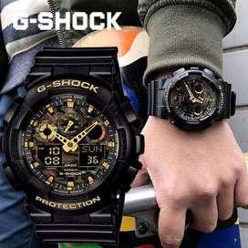 Reloj Casio G-shock Militar Ga-100cf-1a9dr Original, Stock
