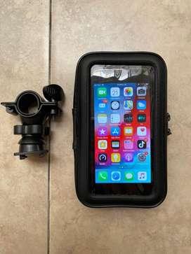 Soporte celular para moto / bicicleta impermeable