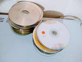 CD USADOS lote 25  para  manualidades