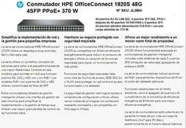 Switch Hpe Officeconnect 1920s 48g 4sfp PoE+ Nº Sku-jl386a