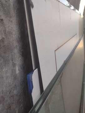 Vidrios templados varias medidas y puerta de vidrio