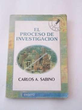 EL PROCESO DE INVESTIGACIÓN usado
