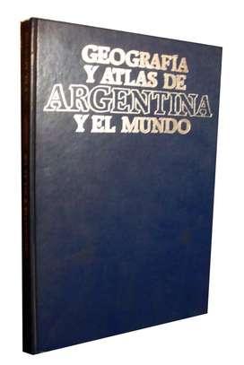 Libro Geografia Atlas De Argentina Y El Mundo Usado Excelente