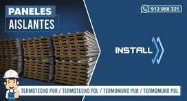 SOMOS FABRICANTES DE PANELES AISLANTES PUR/POL